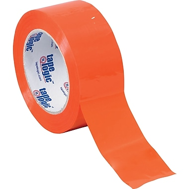 Tape Logic™ 3in. x 55 yds. Orange Carton Sealing Tape, 6/Pack