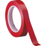 "3M™ 1/2"" x 36 yds. Solid Vinyl Safety Tape 471, Red, 3/Pack"