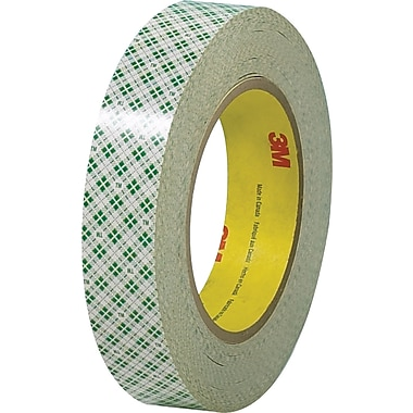 3M™ 3/4in. x 36 yds. Double Sided Masking Tape 410M, Natural, 3 Rolls