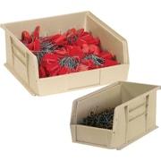 BOX 10 7/8 x 4 1/8 x 4 Plastic Stack and Hang Bin Box, Ivory