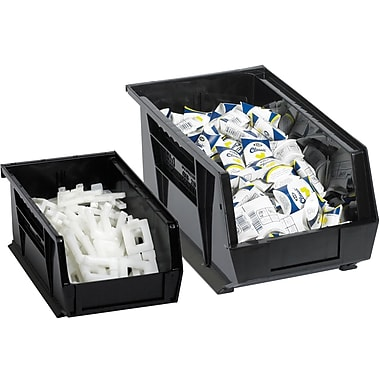 BOX 10 7/8in. x 4 1/8in. x 4in. Plastic Stack and Hang Bin Boxes