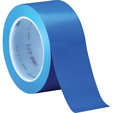 3M™ 3/Pack 2in. x 36 yds. Solid Vinyl Safety Tapes 471