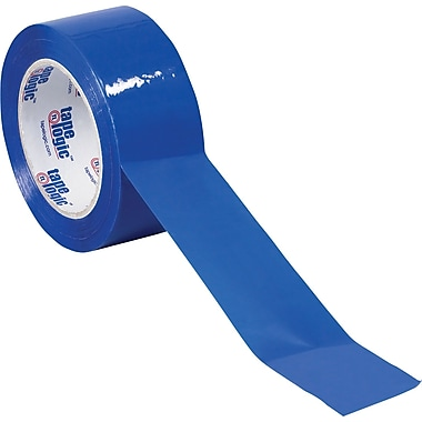 Tape Logic™ 3in. x 55 yds. Blue Carton Sealing Tape, 6/Pack