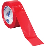 "Tape Logic™ 3"" x 55 yds. Red Carton Sealing Tape, 6/Pack"