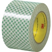 "3M™ 3"" x 36 yds. Double Sided Masking Tape 410M, Natural, 3/Pack"