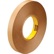 "3M™ 1"" x 72 yds. Double Coated Film Tape 9425, Clear, 9/Case"