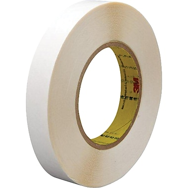 3M™ 1/2in. x 36 yds. Double Coated Film Tape 9579, White, 2/Pack