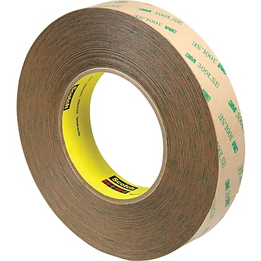 3M™ 1in. x 60 yds. Adhesive Transfer Tape 9472, Clear, 3/Pack