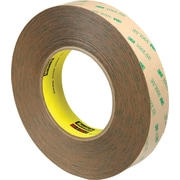 "3M™ 9472LE Adhesive Transfer Tape, Hand Rolls, 1"" x 60 yds., Clear, 3/Case"