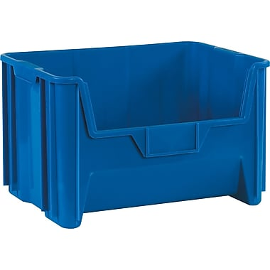 BOX 19 7/8in. x 15 1/4in. x 12 7/16in. Giant Stackable Bin, Blue