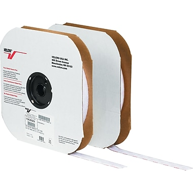Velcro® 1in. x 75' Individual Strips Velcro Tape, Hook, White