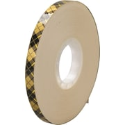 "3M™ 908 Adhesive Transfer Tape, 1/4"" x 36 yds., Clear, 6/Case"