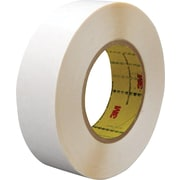 "3M™ 1"" x 36 yds. Double Coated Film Tape 9579, White, 2/Pack"