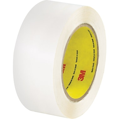 3M™ 2in. x 36 yds. Double Coated Film Tape 444, Clear,6/Pack