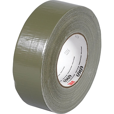 3M™ 2in. x 60 yds. Vinyl Duct Tape 6969, Olive Green, 3/Pack