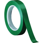 "3M™ 471 Vinyl Tape, 1/2"" x 36 yds., Green, 72/Case"