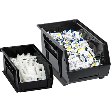 BOX 16in. x 11in. x 8in. Plastic Stack and Hang Bin Boxes