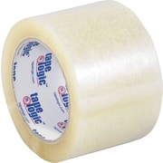 "Tape Logic™ 3"" x 110 yds. Acrylic Tape, Clear, 24/Case"