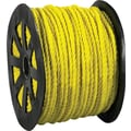 BOX 1150 lbs. Twisted Polypropylene Rope, Yellow, 600'