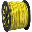 BOX 1150 lbs. Twisted Polypropylene Rope, Yellow, 600'