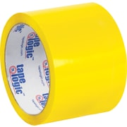 "Tape Logic™ 3"" x 55 yds. Yellow Carton Sealing Tape, 24/Case"