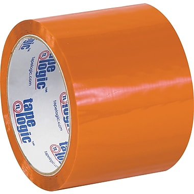 Tape Logic™ 3in. x 55 yds. Orange Carton Sealing Tape, 24/Case