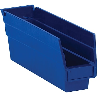 BOX 11 5/8in. x 2 3/4in. x 4in. Plastic Shelf Bin Boxes