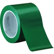 "3M™ 471 Vinyl Tape, 3"" x 36 yds., Green, 12/Case"