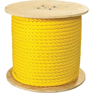 BOX 12800 lbs. Twisted Polypropylene Rope, 600'