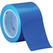"3M™ 471 Vinyl Tape, 3"" x 36 yds., Blue, 12/Case"