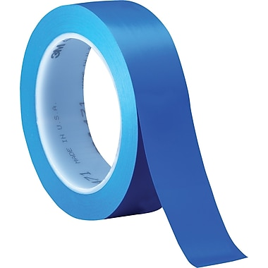 3M™ 1in. x 36 yds. Solid Vinyl Safety Tape 471, Blue, 36/Case