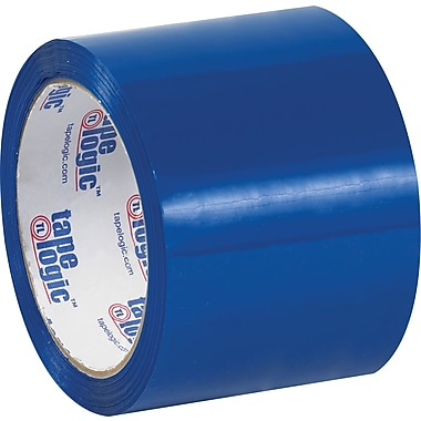Tape Logic™ 3in. x 55 yds. Blue Carton Sealing Tape