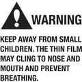 Tape Logic™ Warning Keep Away From Small Children Regulated Label, 2in. x 2in.