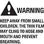 Tape Logic� Warning Keep Away From Small Children