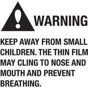 "Tape Logic™ Warning Keep Away From Small Children Regulated Label, 2"" x 2"""