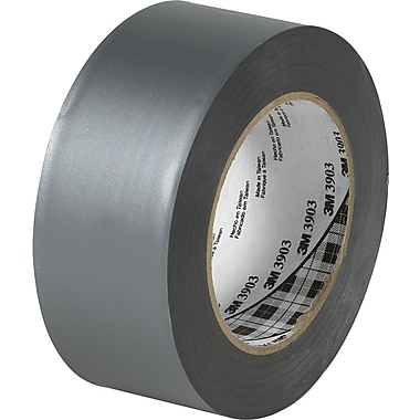 3M™ 3in. x 50 yds. Duct Tape, Silver 3939, 3/Pack