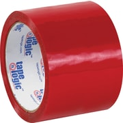 "Tape Logic™ 3"" x 55 yds. Red Carton Sealing Tape, 24/Case"