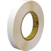 "3M™ 1/2"" x 36 yds. Double Coated Film Tape 9579, White, 72/Case"