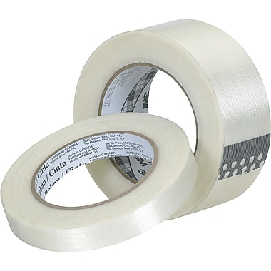 3M™ Tartan™ 3/8in. x 60 yds. Filament Tape 8932, 12 Rolls