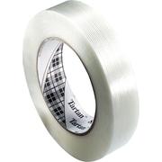"""3M™ Tartan™ 1/2"""" x 60 yds. x 4 mil Filament Tape 8934, 12/Case"""