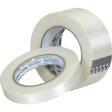 3M™ Tartan™ 1/2in. x 60 yds. Filament Tape 8932, 12/Case