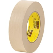 "3M™ Scotch® 1 1/2"" x 60 yds. x 6.3 mil Masking Tape 232, Tan, 12/Case"