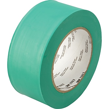 3M™ 2in. x 50 yds. Vinyl Duct Tape 3903, Green, 3/Pack