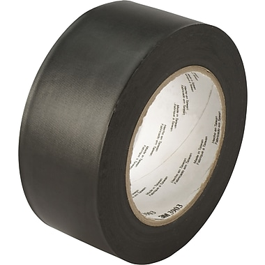 3M™ 2in. x 50 yds. Vinyl Duct Tape 3903, Black, 3/Pack