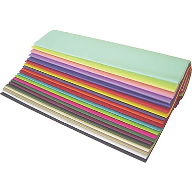 BOX 20in. x 30in. Popular Tissue Paper Assortment Pack, 480 Sheets