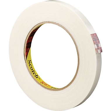 3M™ 3/8in. x 60 yds. Filament Tape 897, 12/Case