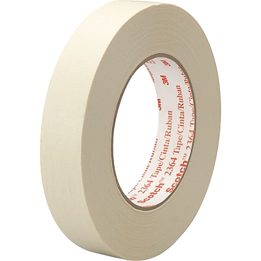 3M™ Scotch® 3/4in. x 60 yds. x 6.5 mil Masking Tape 2364, 12 Rolls