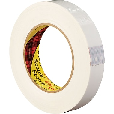 3M™ 1/2in. x 60 yds. Filament Tape 897, 12/Case