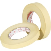 3M™ Scotch® 1/2 x 60 yds. x 7.5 mil Masking Tape 2380, Tan, 12/Case