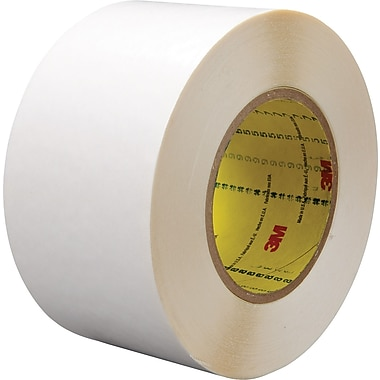 3M™ 2in. x 36 yds. Double Coated Film Tape 9579, White, 24/Case